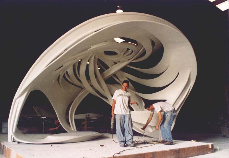 Bandshell 12' - Frank Stella