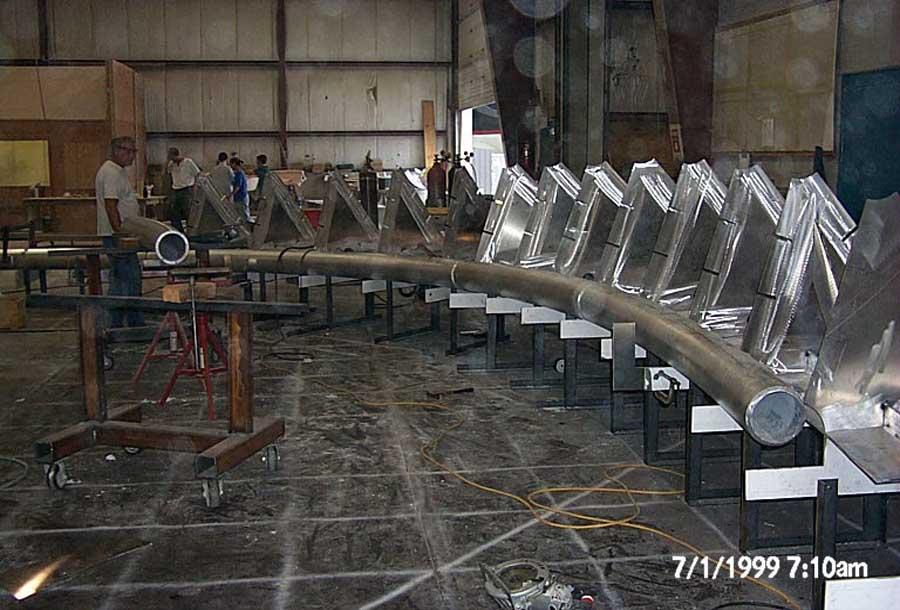 Bandshell 36' - Section Alum.