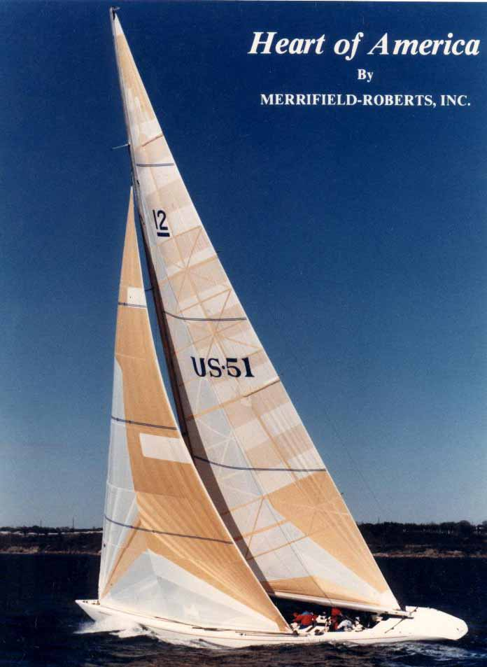 Heart of America - MRI's First Boat