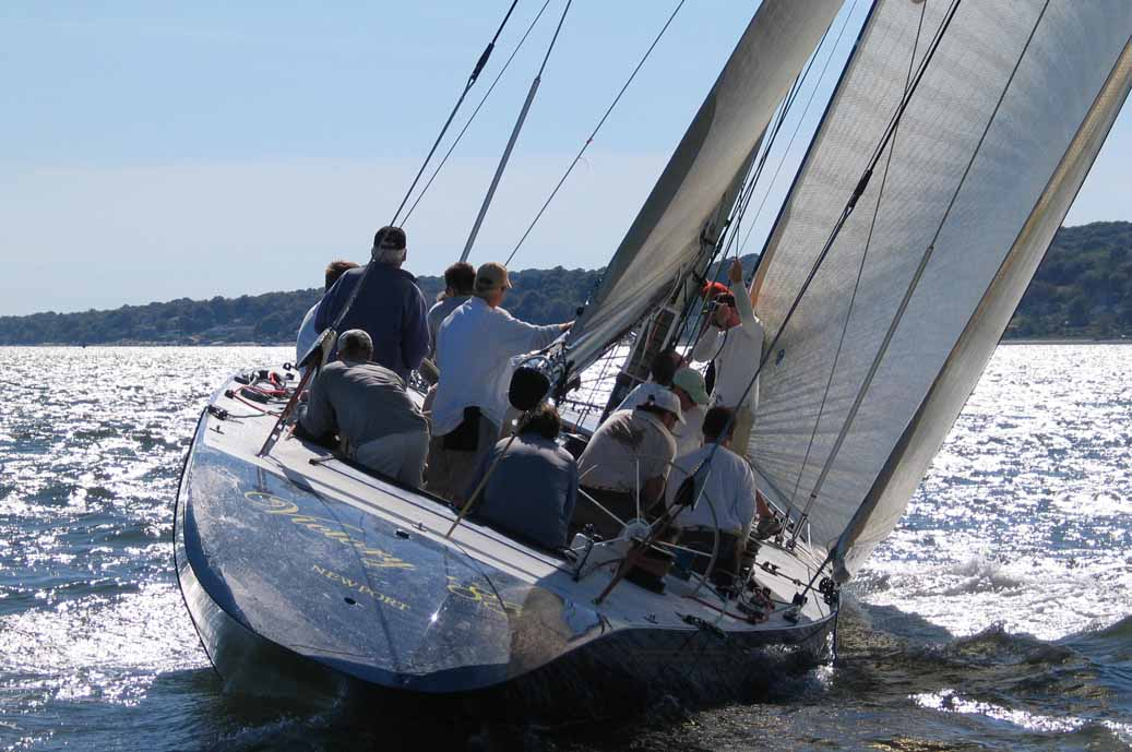 Victory '83 Sailing Away